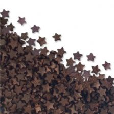 Brown Star Sugar Sprinkles